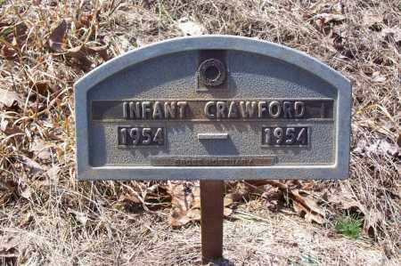 CRAWFORD, INFANT - Garland County, Arkansas | INFANT CRAWFORD - Arkansas Gravestone Photos