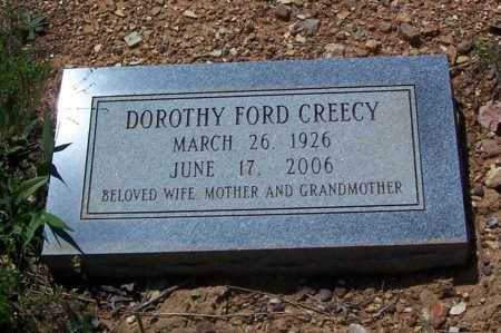 FORD CREECY, DOROTHY - Garland County, Arkansas | DOROTHY FORD CREECY - Arkansas Gravestone Photos
