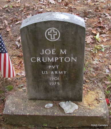 CRUMPTON (VETERAN), JOE M - Garland County, Arkansas | JOE M CRUMPTON (VETERAN) - Arkansas Gravestone Photos