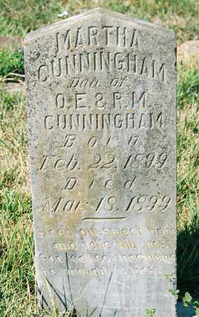 CUNNINGHAM, MARTHA - Garland County, Arkansas | MARTHA CUNNINGHAM - Arkansas Gravestone Photos