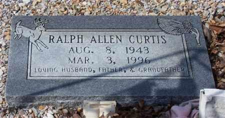 CURTIS, RALPH ALLEN - Garland County, Arkansas | RALPH ALLEN CURTIS - Arkansas Gravestone Photos