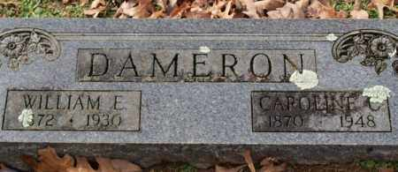 DAMERON, CAROLINE C. - Garland County, Arkansas | CAROLINE C. DAMERON - Arkansas Gravestone Photos