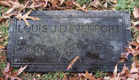 DAVENPORT, LOUIS J. - Garland County, Arkansas | LOUIS J. DAVENPORT - Arkansas Gravestone Photos
