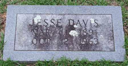 DAVIS, JESSE - Garland County, Arkansas | JESSE DAVIS - Arkansas Gravestone Photos