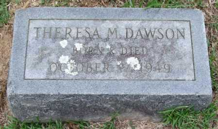 DAWSON, THERESA M. - Garland County, Arkansas | THERESA M. DAWSON - Arkansas Gravestone Photos