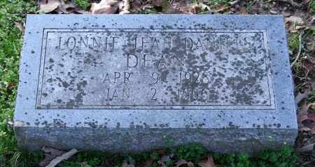 DANIELS DEAN, LONNIE JEAN - Garland County, Arkansas | LONNIE JEAN DANIELS DEAN - Arkansas Gravestone Photos