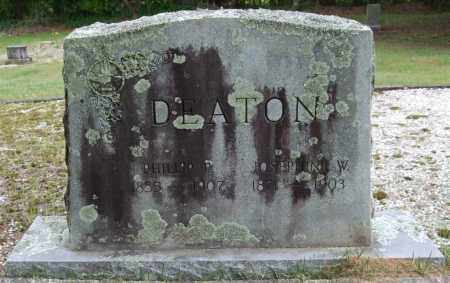 WILLIAMSON DEATON, JOSEPHINE - Garland County, Arkansas | JOSEPHINE WILLIAMSON DEATON - Arkansas Gravestone Photos