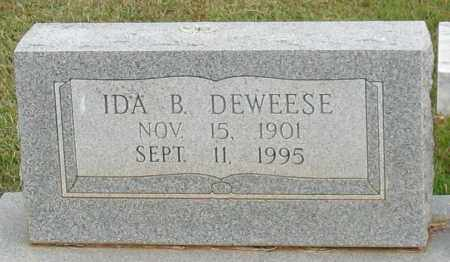 DEWEESE, IDA B. - Garland County, Arkansas | IDA B. DEWEESE - Arkansas Gravestone Photos
