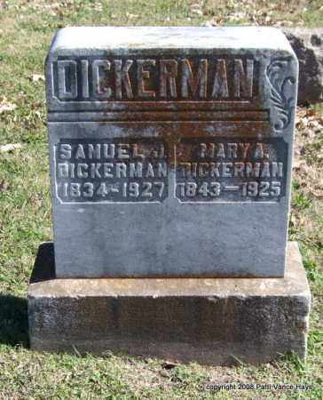DICKERMAN, MARY A. - Garland County, Arkansas | MARY A. DICKERMAN - Arkansas Gravestone Photos