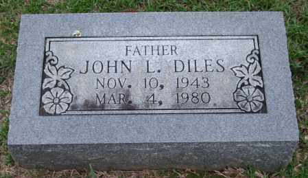 DILES, JOHN L. - Garland County, Arkansas | JOHN L. DILES - Arkansas Gravestone Photos