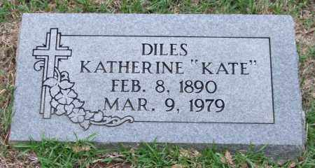 "DILES, KATHERINE ""KATE"" - Garland County, Arkansas 