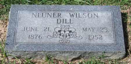 DILL, NEUNER WILSON - Garland County, Arkansas | NEUNER WILSON DILL - Arkansas Gravestone Photos