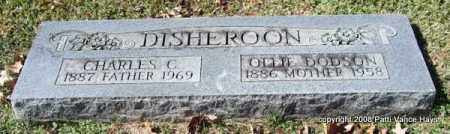DISHEROON, CHARLES C. - Garland County, Arkansas | CHARLES C. DISHEROON - Arkansas Gravestone Photos