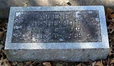 DISHEROON, CARLENE L. - Garland County, Arkansas | CARLENE L. DISHEROON - Arkansas Gravestone Photos