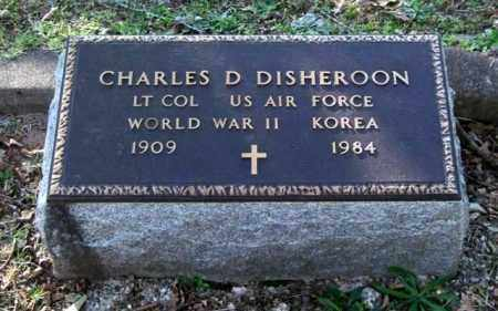 DISHEROON (VETERAN 2 WARS), CHARLES D - Garland County, Arkansas | CHARLES D DISHEROON (VETERAN 2 WARS) - Arkansas Gravestone Photos