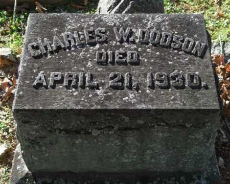 DODSON, CHARLES W. - Garland County, Arkansas | CHARLES W. DODSON - Arkansas Gravestone Photos