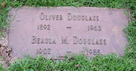DOUGLASS, OLIVER - Garland County, Arkansas | OLIVER DOUGLASS - Arkansas Gravestone Photos