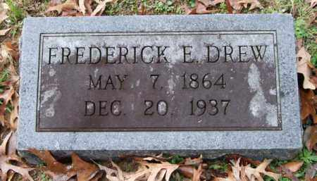 DREW, FREDERICK E. - Garland County, Arkansas | FREDERICK E. DREW - Arkansas Gravestone Photos