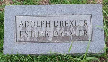 DREXLER, ADOLPH - Garland County, Arkansas | ADOLPH DREXLER - Arkansas Gravestone Photos