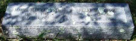 JACKSON, PEARL M. - Garland County, Arkansas | PEARL M. JACKSON - Arkansas Gravestone Photos