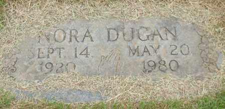 DUGAN, NORA - Garland County, Arkansas | NORA DUGAN - Arkansas Gravestone Photos