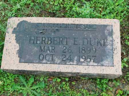 DUKE, HERBERT E. - Garland County, Arkansas | HERBERT E. DUKE - Arkansas Gravestone Photos