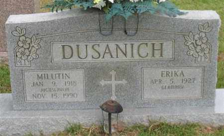 DUSANICH, MILUTIN - Garland County, Arkansas | MILUTIN DUSANICH - Arkansas Gravestone Photos