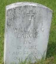 EARGLE (VETERAN), WILLIAM G - Garland County, Arkansas | WILLIAM G EARGLE (VETERAN) - Arkansas Gravestone Photos