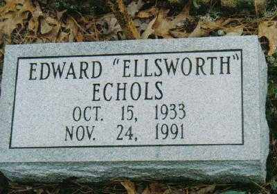 "ECHOLS, EDWARD ""ELLSWORTH"" - Garland County, Arkansas 