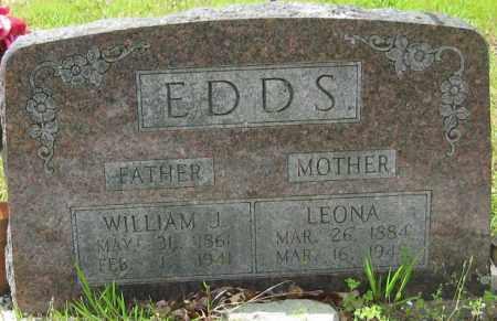 EDDS, LEONA - Garland County, Arkansas | LEONA EDDS - Arkansas Gravestone Photos
