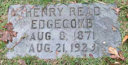 EDGECOMB, HENRY READ - Garland County, Arkansas | HENRY READ EDGECOMB - Arkansas Gravestone Photos