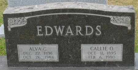 EDWARDS, CALLIE O. - Garland County, Arkansas | CALLIE O. EDWARDS - Arkansas Gravestone Photos