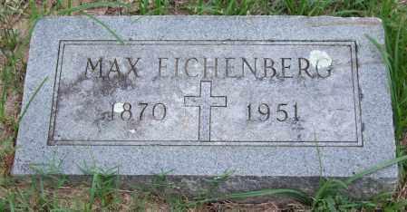 EICHENBERG, MAX - Garland County, Arkansas | MAX EICHENBERG - Arkansas Gravestone Photos