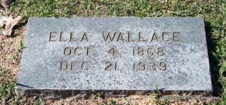 ELLA, WALLACE - Garland County, Arkansas | WALLACE ELLA - Arkansas Gravestone Photos