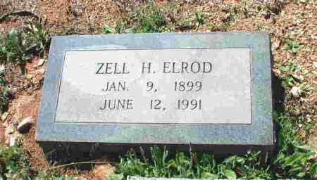 TUCKER ELROD, ZELL H. - Garland County, Arkansas | ZELL H. TUCKER ELROD - Arkansas Gravestone Photos