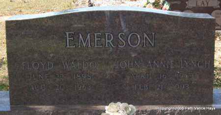 EMERSON, FLOYD WALDO - Garland County, Arkansas | FLOYD WALDO EMERSON - Arkansas Gravestone Photos