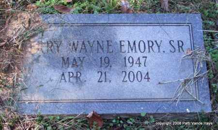 EMORY, SR., JERRY WAYNE - Garland County, Arkansas | JERRY WAYNE EMORY, SR. - Arkansas Gravestone Photos