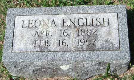 ENGLISH, LEONA - Garland County, Arkansas | LEONA ENGLISH - Arkansas Gravestone Photos