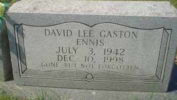 ENNIS, DAVID LEE GASTON - Garland County, Arkansas | DAVID LEE GASTON ENNIS - Arkansas Gravestone Photos