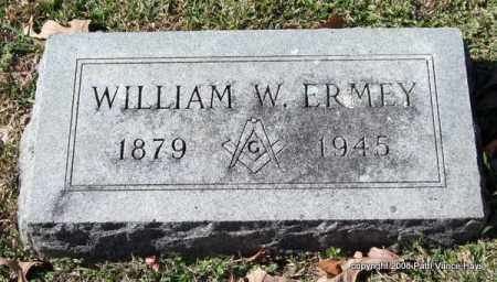 ERMEY, WILLIAM W. - Garland County, Arkansas | WILLIAM W. ERMEY - Arkansas Gravestone Photos