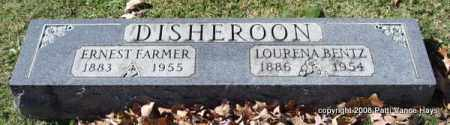 BENTZ LOURENA, DISHEROON - Garland County, Arkansas | DISHEROON BENTZ LOURENA - Arkansas Gravestone Photos