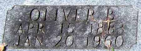 EVANS, OLIVER B. (CLOSE UP) - Garland County, Arkansas | OLIVER B. (CLOSE UP) EVANS - Arkansas Gravestone Photos