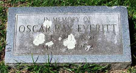 EVERITT, OSCAR RAY - Garland County, Arkansas | OSCAR RAY EVERITT - Arkansas Gravestone Photos