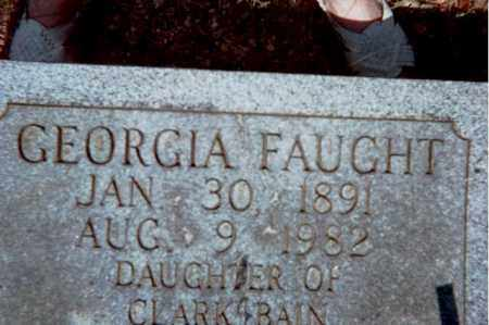 BAIN FAUGHT, GEORGIA - Garland County, Arkansas | GEORGIA BAIN FAUGHT - Arkansas Gravestone Photos