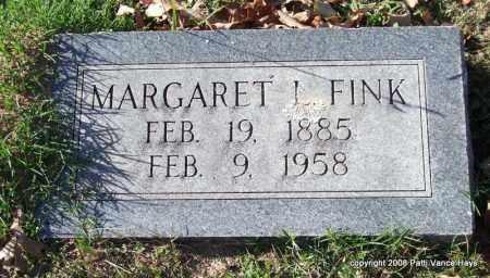 FINK, MARGARET L. - Garland County, Arkansas | MARGARET L. FINK - Arkansas Gravestone Photos