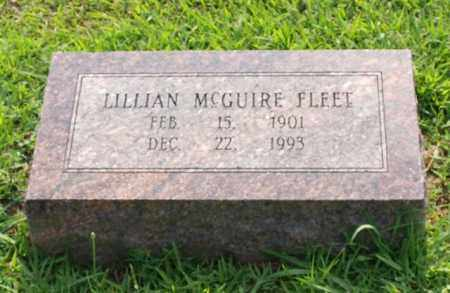 MCGUIRE FLEET, LILLIAN - Garland County, Arkansas | LILLIAN MCGUIRE FLEET - Arkansas Gravestone Photos
