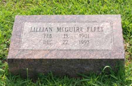 FLEET, LILLIAN - Garland County, Arkansas | LILLIAN FLEET - Arkansas Gravestone Photos