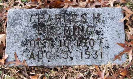 FLEMING, CHARLES H. - Garland County, Arkansas | CHARLES H. FLEMING - Arkansas Gravestone Photos