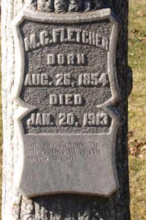 FLETCHER, M. C. (CLOSE UP) - Garland County, Arkansas | M. C. (CLOSE UP) FLETCHER - Arkansas Gravestone Photos