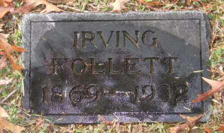 FOLLETT, IRVING - Garland County, Arkansas | IRVING FOLLETT - Arkansas Gravestone Photos